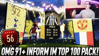FIFA 18: OMG 91+ INFORM im TOP 100 FUT CHAMPIONS PACK! 😍🔥 Krasse Rewards in Pack Opening😱