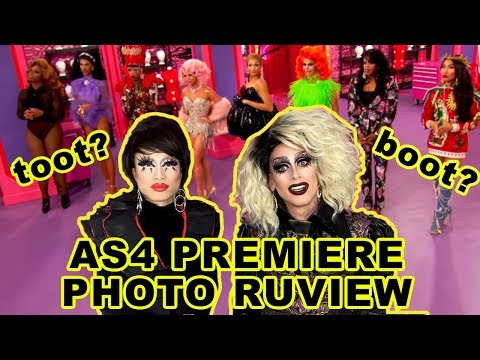 All Stars 4 Premiere BOOTLEG Fashion Photo Ruview with Dusty Ray Bottoms!!! Part 1