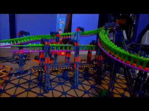 K'nex Suspended Coaster Test 1