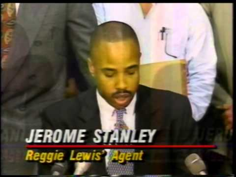 Reggie Lewis dies Tv4 News Reports 1993