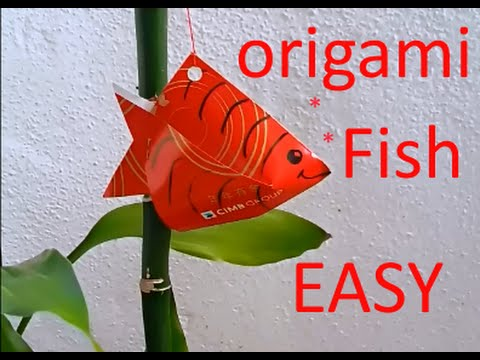 Cny tutorial no 28 small red packet hongbao fish by for Ang pao fish tutorial