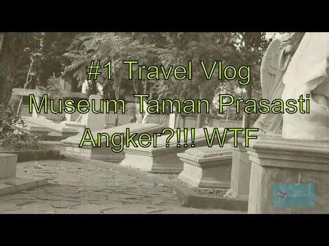 #1 Vlog di Museum Taman Prasasti, Jakarta Pusat - ANGKER GA SIH?!!!