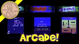 Tiny Arcade - Frogger, Galaga & Dig Dug World's Smallest!