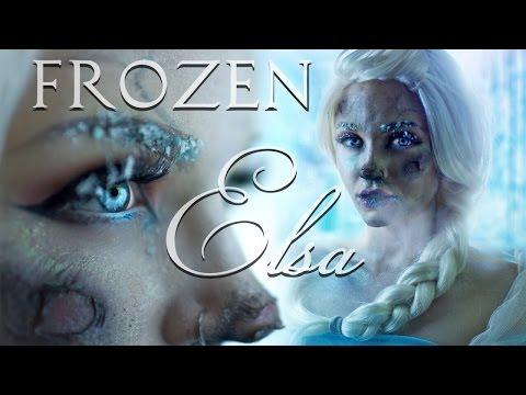 Frozen Frostbite Elsa Makeup Tutorial