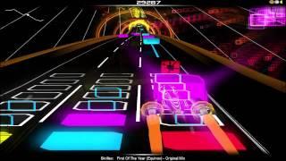 Audiosurf - Skrillex - First Of The Year (Equinox)