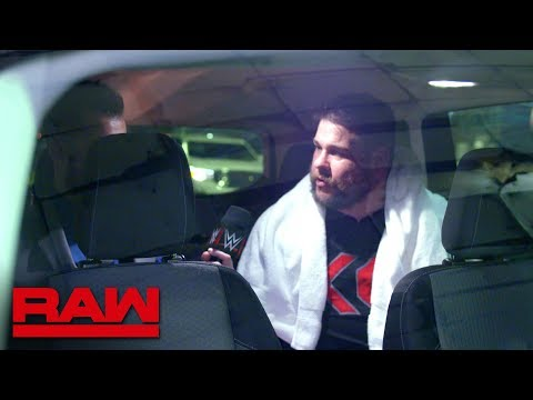 Kevin Owens is ready to hit the road before SummerSlam: Raw Exclusive, Aug. 13, 2018