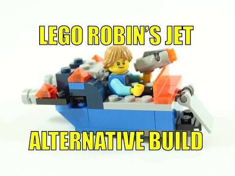 LEGO NEXO KNIGHTS 30372 ALTERNATIVE BUILD ROBIN'S JET
