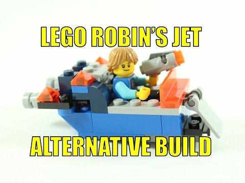 LEGO NEXO KNIGHTS 30372 ALTERNATIVE BUILD ROBIN'S JET