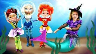 Сказочный патруль - Подводное царство. Волшебница - Ведьмочка Юлли - Мультики для девочек