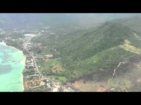 Flight to Koh Samui, Thailand