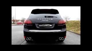 speedART Active Sound System für/for Porsche Cayenne Diesel S V8