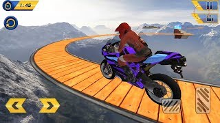 Impossible Bike Stunt Games 2018 3D Tricky Tracks Android Gameplay