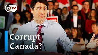 Canada PM Justin Trudeau battles corruption scandal | DW News
