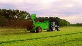 Farming Simulator 2015 курсплей для удобрения полей твердым навозом