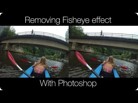 Remove The Fisheye Effect From (GoPro) Photos
