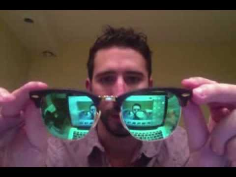 ray ban mirrored clubmaster sunglasses  ray ban clubmasters flash mirror colored lenses review rb 3016 youtube