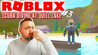 DER ER PIRATER! - Roblox Scuba Diving At Quill Lake Dansk Ep 3