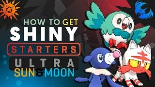 HOW TO GET SHINY STARTERS IN Pokemon ULTRA SUN and MOON! Pokemon Ultra Sun and Moon Shiny Tutorial! thumbnail