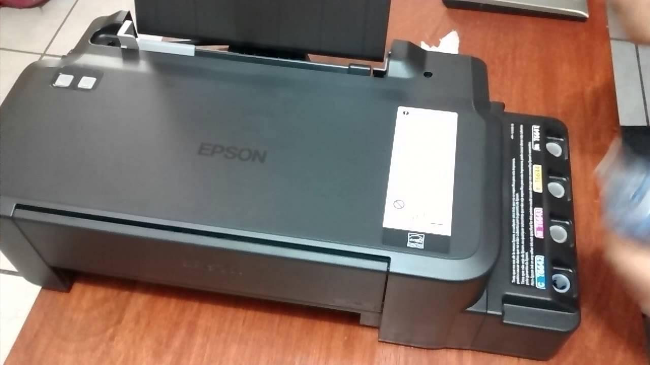 Epson l120 working resetter