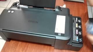 Epson L120 instalacion Pc y llenado de tintas para sublimacion