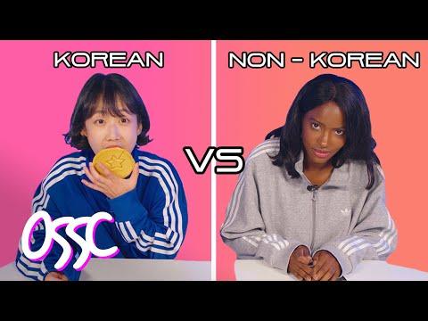 Korean Team VS Non-Korean Team Try The Dalgona Challenge | 𝙊𝙎𝙎𝘾