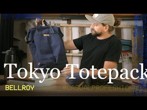 Work Backpack: Bellroy Tokyo Totepack
