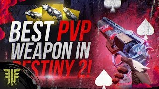 BEST PVP WEAPON IN DESTINY 2 | Ace of Spades New Forsaken Exotic Review!