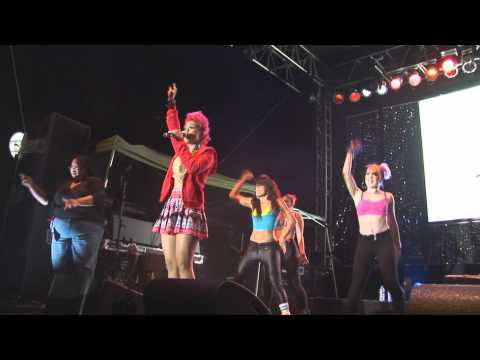 Julissa Veloz Live LA Pride 2012