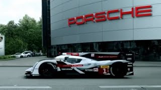 Audi Taunts Porsche At Their Factory! Great Le Mans Commercial Funny Car Ad CARJAM TV 2014 thumbnail