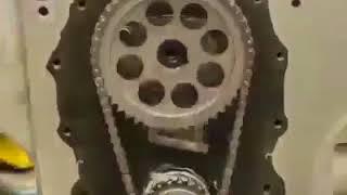 révision et modification d'un moteur V8