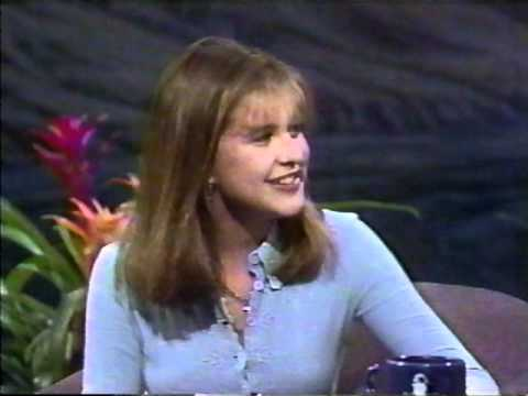 Kellie Martin on Jay Leno, 1992