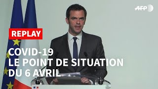 REPLAY - Covid-19: le point de situation du 6 avril