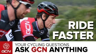 How Can I Get Faster?   Ask GCN Anything About Cycling