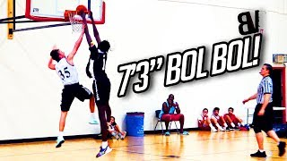 """7'3"""" Bol Bol VS 4 Weeks of TINY GUARDS! Bol Looking BORED Dominating Fall League with Mater Dei!"""