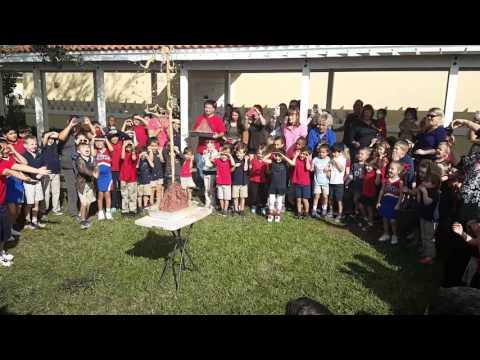 First United Methodist School - 2nd Grade Volcano Eruption - 2/3/16