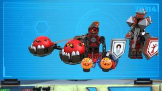 Chaos Chariot / Rumble Blade - LEGO Nexo Knights - 70314 / 70315 - Product Animation