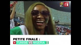 La joie des supporters du Nigeria après la 3e place de leur équipe  #CAN2019