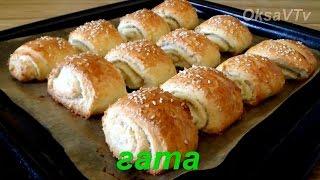 Гата. Кята. Восточная сладость. Eastern sweetness. Gata. Kyata.(Как приготовить вкусное восточное печенье(слоеные пирожки) - гата. Мои рецепты выпечки : http://www.youtube.com/playlist?list..., 2015-04-18T05:42:24.000Z)