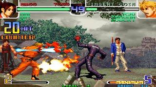 [TAS] KOF 2002 Magic Plus II - Arcade Random Team #11