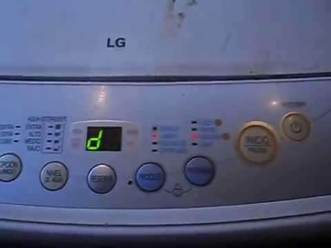 adecuado para hombres/mujeres precio razonable última moda falla de lavadora lg 12 kg puerta abierta