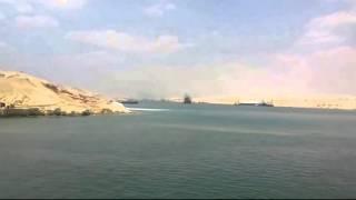 قناة السويس الجديدة : التكريك فى منطقة منصة الأفتتاح 1يونيو 2015