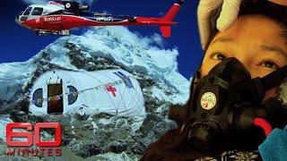 Everest ER: Where doctors rebuild mountaineers' broken bodies | 60 Minutes Australia