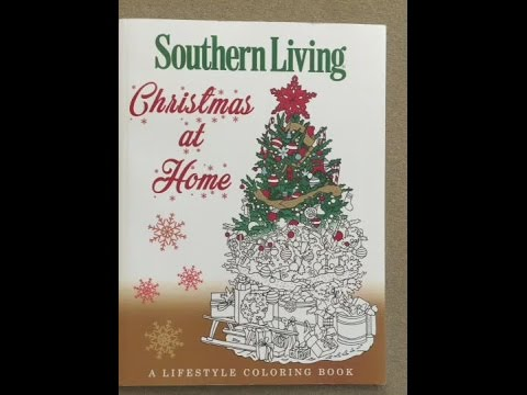 1542d2d9eb3d1 Southern Living - Christmas at Home flip through - YouTube