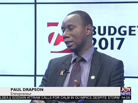 Debt stock is approximately 73% of GDP - 2017 Budget on Joy News (2-3-17)
