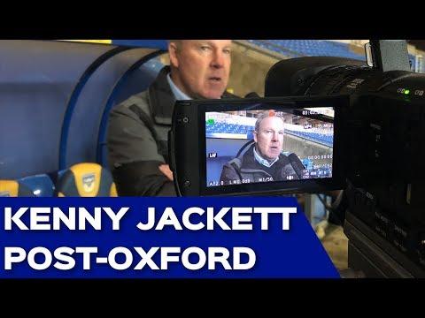 Kenny Jacket post-Oxford United