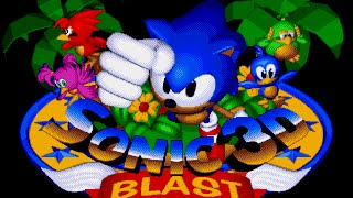 Mega Drive Longplay [020] Sonic 3D Blast