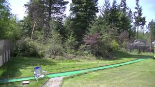 First day using my riding lawn mower - The Yard Man