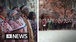 Indigenous festival turns Ormiston Gorge into an auditorium | ABC News