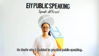 EIY - Thu - What is Public Speaking?