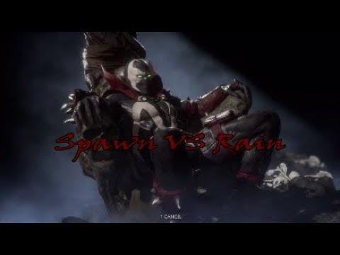 MK11: Spawn VS Rain